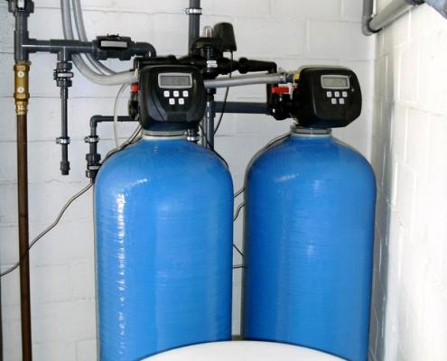 duplex waterverzachter